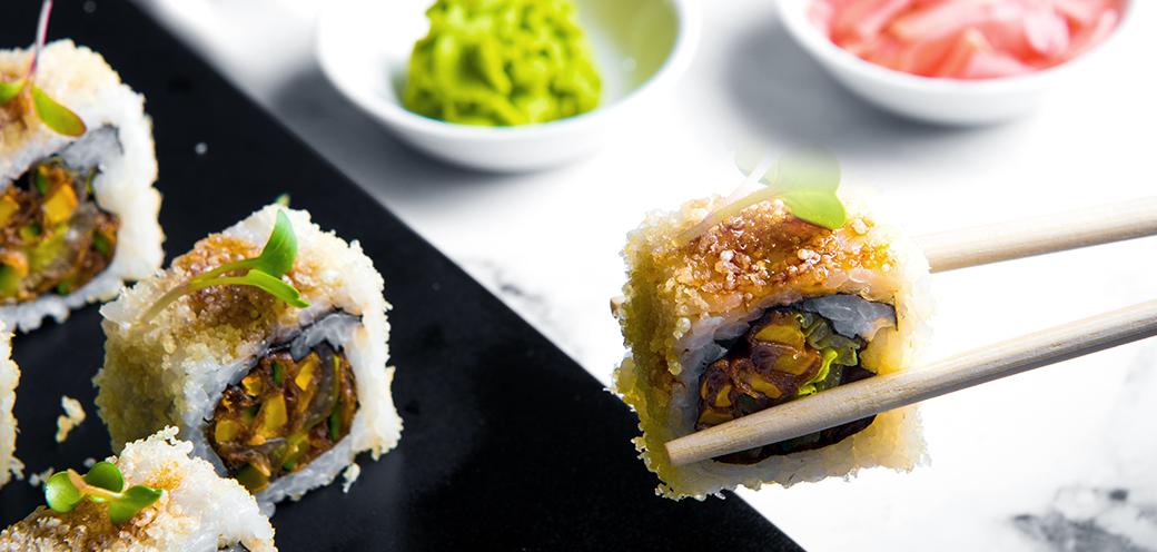 Crunchy Grill Eel Roll